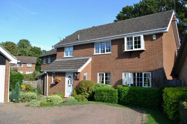 Thumbnail Detached house for sale in Squires Walk, Spinney Hill, Northampton