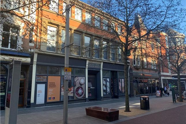 Thumbnail Retail premises to let in High Street (Ground Floor & Basement), Leicester, Leicestershire