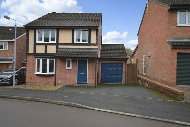 Thumbnail Detached house for sale in Lomond Close, Sparcells, Swindon