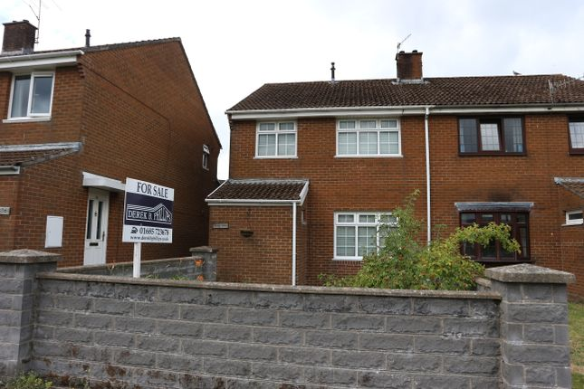 Thumbnail Semi-detached house for sale in Cae'r Wern, Ynysfach, Merthyr Tydfil
