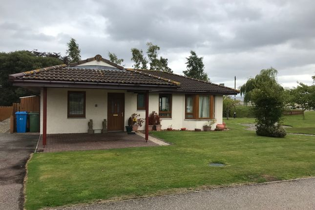 Thumbnail Detached bungalow for sale in Highland Park Private Retirement Village, Barbaraville, Invergordon