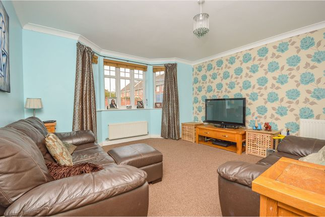 Thumbnail End terrace house for sale in Beaumont Road, Flitwick
