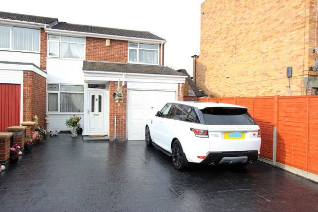 Thumbnail Semi-detached house for sale in Nevanthon Road, Leicester