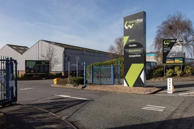 Thumbnail Light industrial to let in Kelvin Way Trading Estate Kelvin Way, West Bromwich