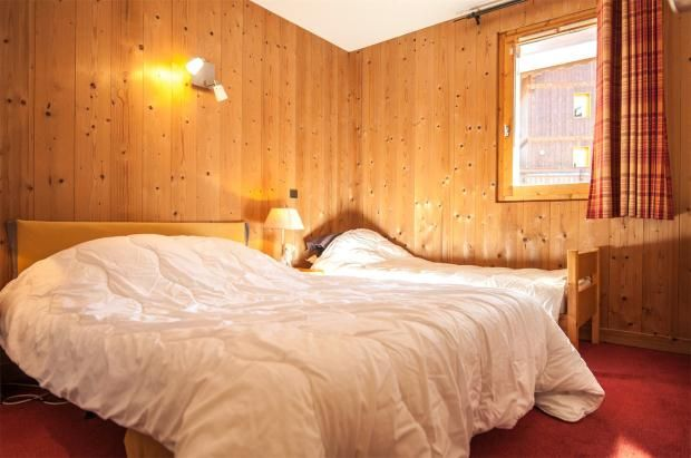Bedroom of Courchevel Moriond, Le Belvedere, French Alps, 73120