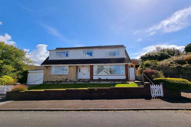 Thumbnail Detached bungalow for sale in Heol Pen Y Scallen, Loughor, Swansea