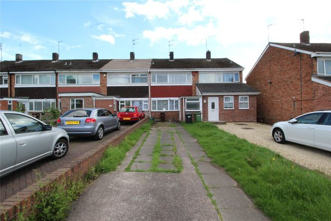 Thumbnail Town house to rent in Fir Grove, Merridale, Wolverhampton
