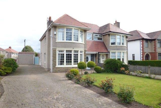 Thumbnail Semi-detached house for sale in Broadway, Morecambe, Lancashire