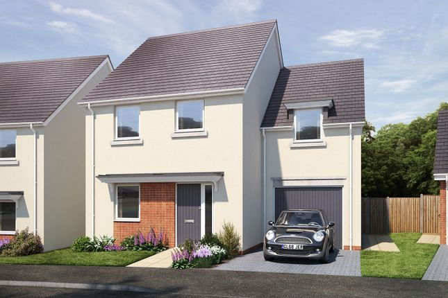 """Thumbnail Detached house for sale in """"The Richmond"""" at Vicarage Hill, Kingsteignton, Newton Abbot"""