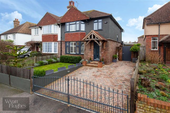 Thumbnail Semi-detached house for sale in St. James Road, Bexhill-On-Sea