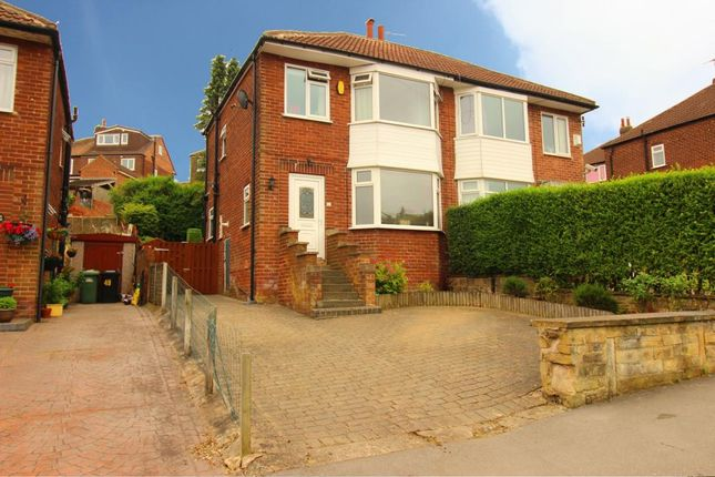 Thumbnail Semi-detached house for sale in Armley Grange Avenue, Armley, Leeds