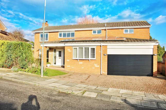 Thumbnail Detached house for sale in The Spinney, Hartlepool