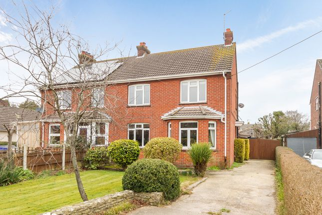 Thumbnail Semi-detached house for sale in Northfield Road, Ringwood, Hampshire