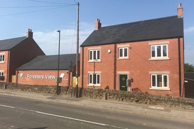 Thumbnail Detached house for sale in Frecheville Drive, Off Bullbridge Hill, Fritchley, Belper