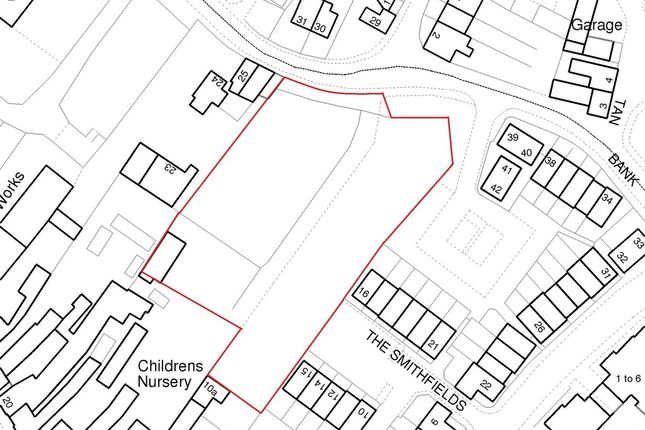Thumbnail Land for sale in Land Adjacent To 27 Water Lane, Newport, Shropshire