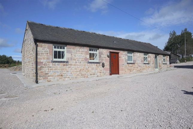 Thumbnail Barn conversion to rent in Winkhill, Leek