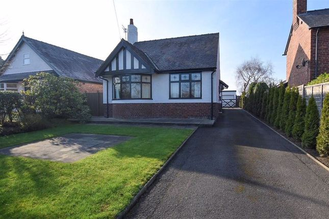 Thumbnail Detached bungalow for sale in Northwich Road, Northwich, Cheshire