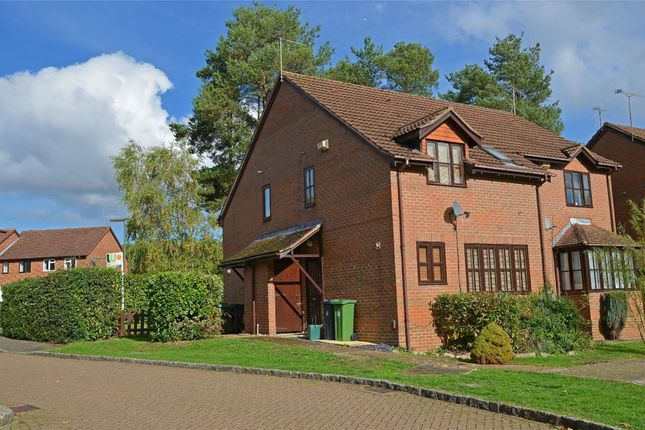 Thumbnail End terrace house for sale in Maguire Drive, Frimley, Camberley, Surrey