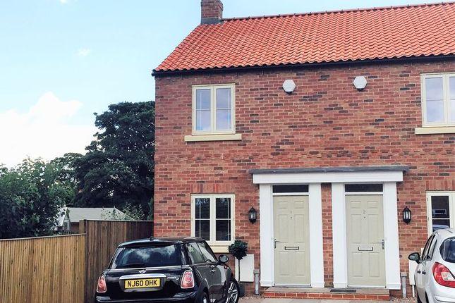 Thumbnail End terrace house for sale in 1 Joseph Hutchinson Court, Chapel Street, York
