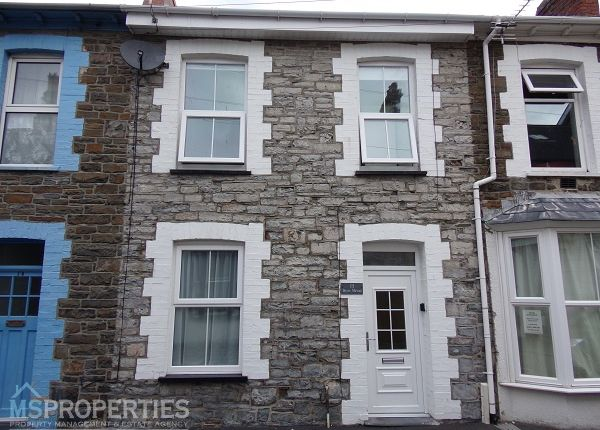 Thumbnail Terraced house for sale in Powell Street, Aberystwyth