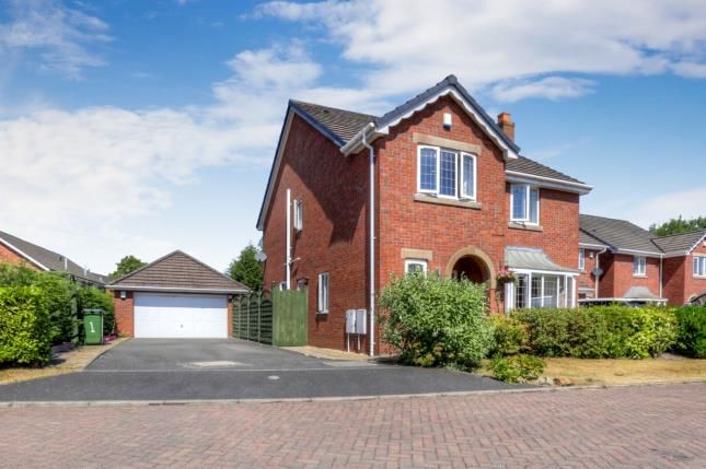 Thumbnail Detached house for sale in Meadow Close, Hazel Grove, Stockport, Cheshire