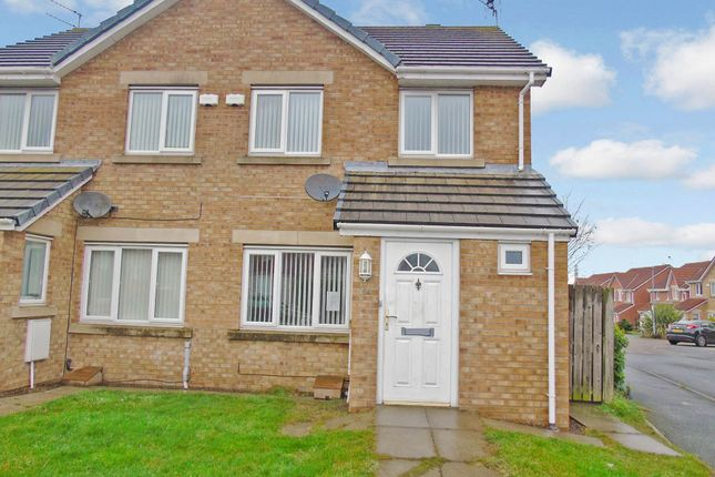 Thumbnail Semi-detached house to rent in Woodhorn Farm, Newbiggin-By-The-Sea