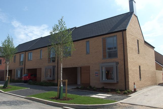 Thumbnail End terrace house to rent in Argent Road, Trumpington Meadows, Cambridge