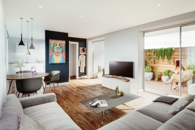 Thumbnail Flat for sale in Simpsons Road, Bromley
