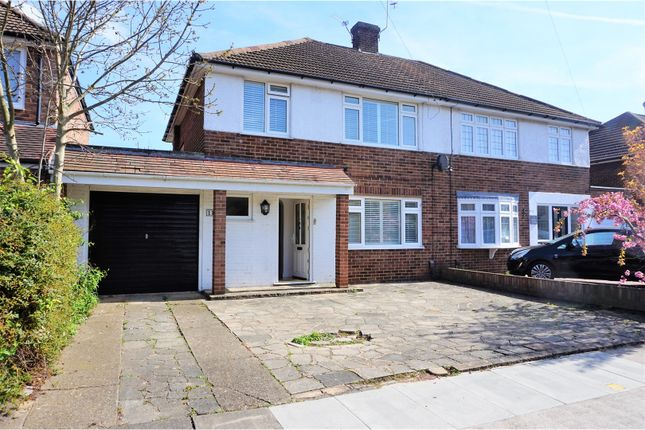 Thumbnail Semi-detached house for sale in Dane Close, Bexley