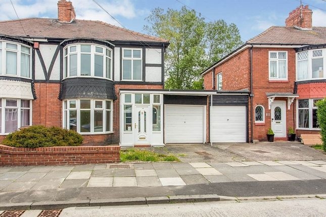 3 bed semi-detached house to rent in Plessey Crescent, Whitley Bay NE25