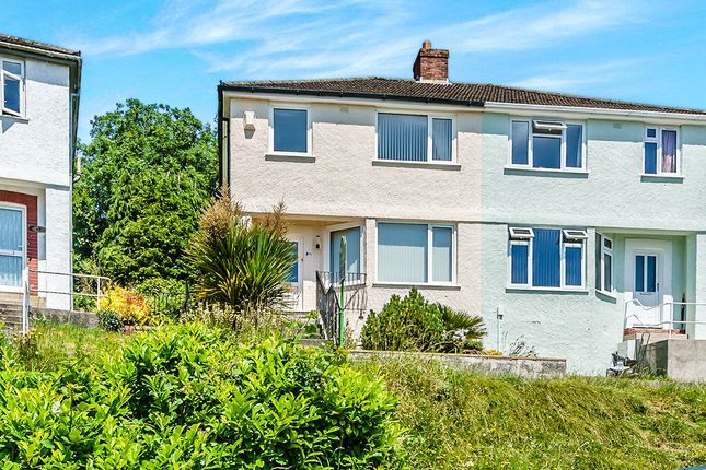 Thumbnail Semi-detached house to rent in Wycliffe Road, Plymouth