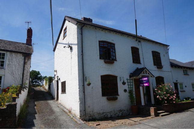Thumbnail Semi-detached house for sale in High Street, Llanfair Caereinion, Welshpool