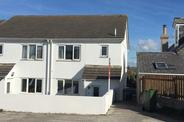 Thumbnail Semi-detached house for sale in Gwythian Way, Perranporth