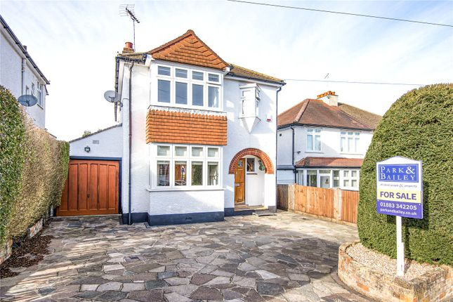 Thumbnail Detached house for sale in Hillcrest Road, Whyteleafe, Surrey