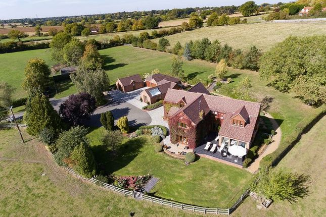 Thumbnail Detached house for sale in Hob Lane, Barston, Solihull
