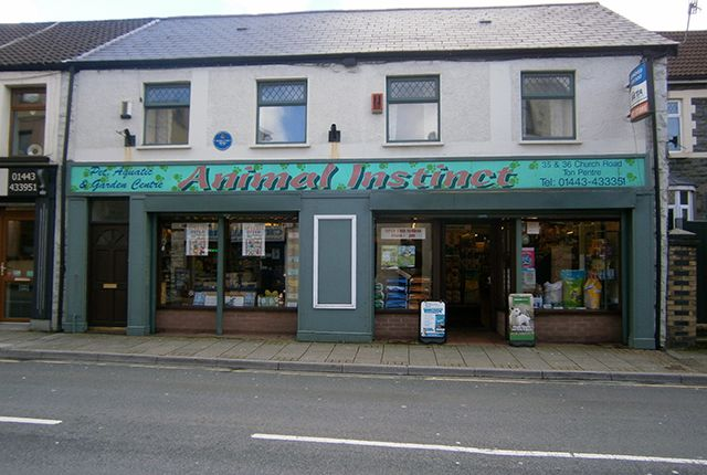 Thumbnail Retail premises for sale in Church Road, Ton Pentre