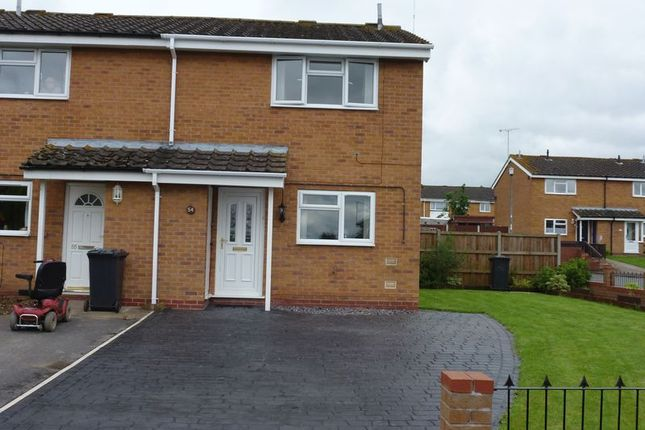 Thumbnail Terraced house to rent in Eldorado Close, Studley