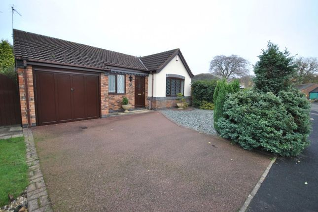 Thumbnail Detached bungalow to rent in Sanders Road, Quorn, Loughborough