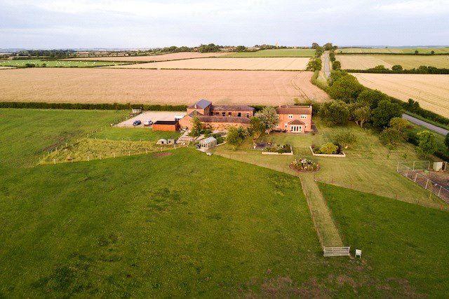 Drone of Witham Grange And Witham Barn, Doddington Lane, Dry Doddington, Newark NG23