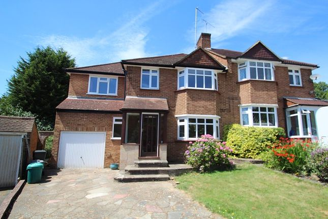 Thumbnail Semi-detached house to rent in Abbots Green, Addington, Croydon