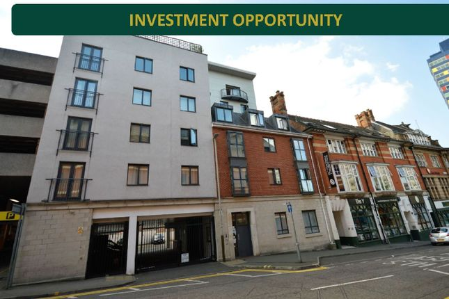 Thumbnail Flat for sale in Eastgate Apartment, City Centre, Leicester
