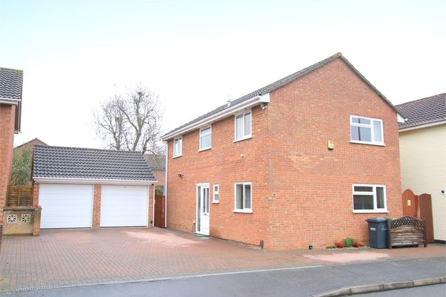 Thumbnail Detached house for sale in Collingwood Road, Eaton Socon, St. Neots