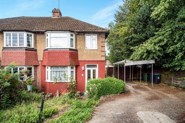 Thumbnail Semi-detached house for sale in Hilmay Drive, Hemel Hempstead