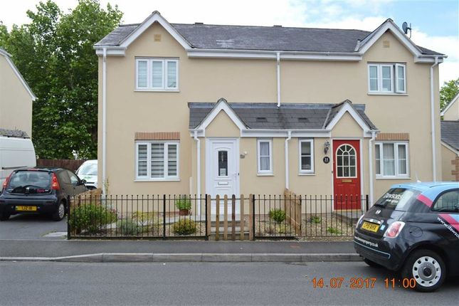 Thumbnail Semi-detached house for sale in Ffordd Cambria, Swansea