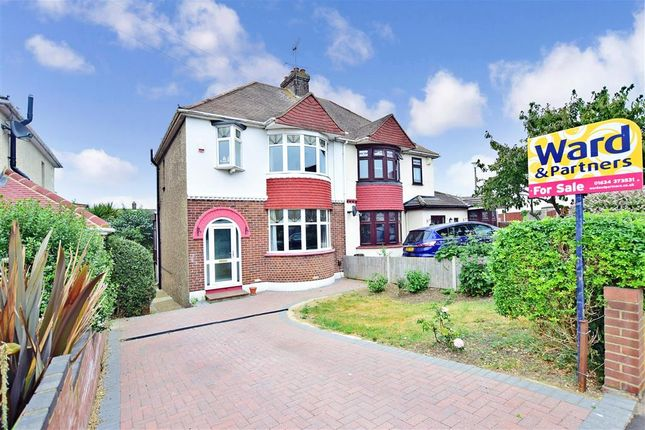 Thumbnail Semi-detached house for sale in Begonia Avenue, Gillingham, Kent