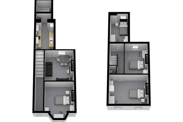 Thumbnail End terrace house to rent in Sheppard Street, Penkhull, Stoke-On-Trent