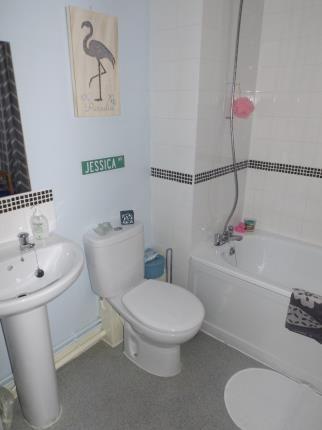 Bathroom of Liberty Place, St Helens, Merseyside, Uk WA10