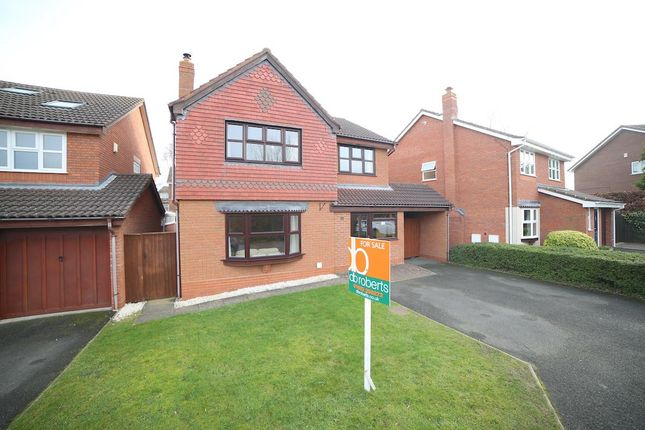Thumbnail Detached house for sale in Donnerville Close, Wellington, Telford