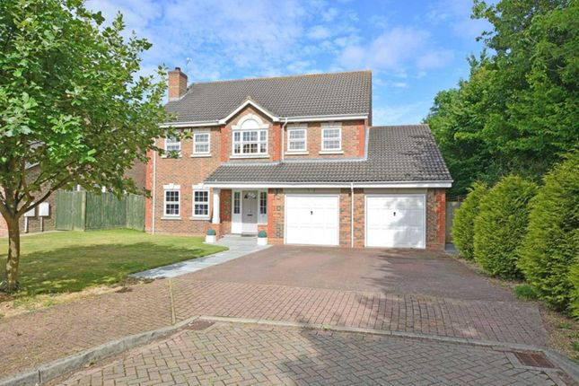 Thumbnail Detached house for sale in Oldbury Close, Horsham