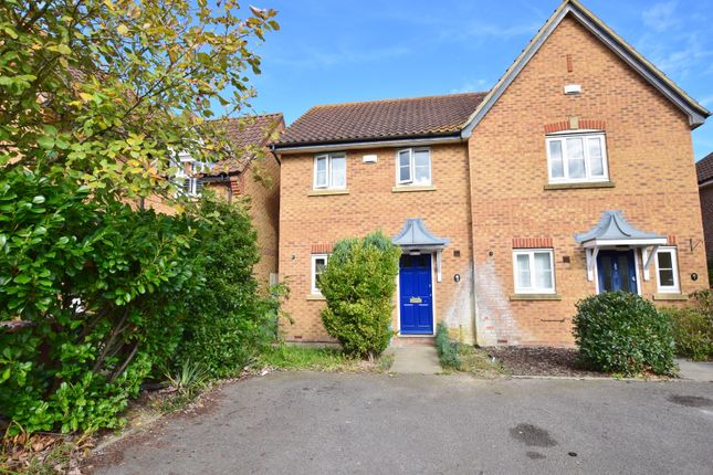 Thumbnail Semi-detached house for sale in Wood Lane, Kingsnorth, Ashford